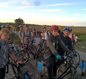 wycieczka rowerowa dookoła jeziora Resko