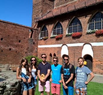 042 Na zamku Olsztyńskim.