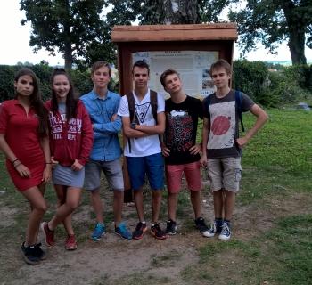 039 Zwiedzamy kościół w Bezławkach