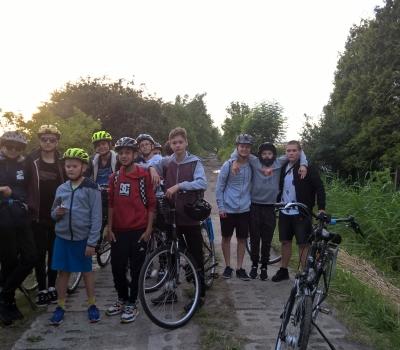 11.Wycieczka rowerowa wokół jeziora Resko.