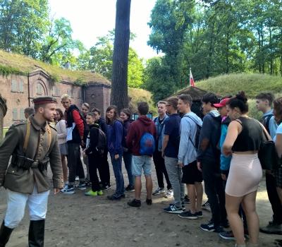 15. Fort Gerharda - początek szkolenia.