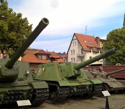 40. W muzeum w Kołobrzegu.